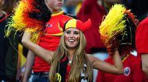 Фанатка сборной Бельгии получила контракт модели благодаря ЧМ-2014 (видео)