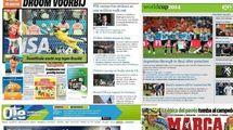 """""""Кричите, ведь Аргентина возвращается в Рио!""""  Мировые СМИ - о матче Голландия - Аргентина"""
