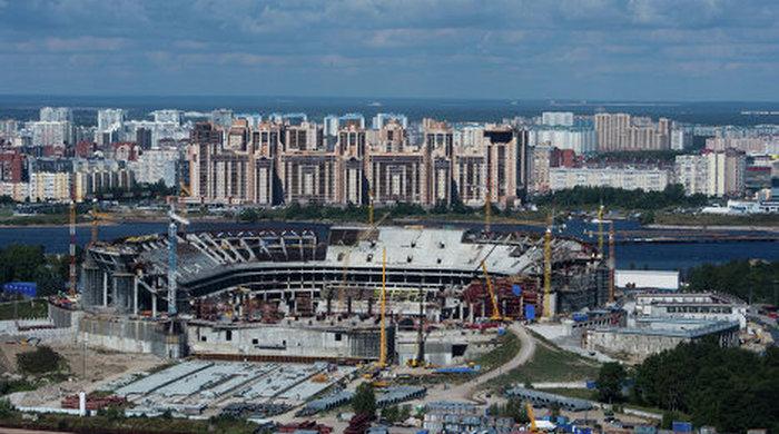 Россия потратит 35 миллиардов на стадион