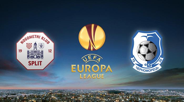 """Лига Европы. """"Сплит"""" - """"Черноморец"""" 2:0. Неожиданный провал одесситов"""