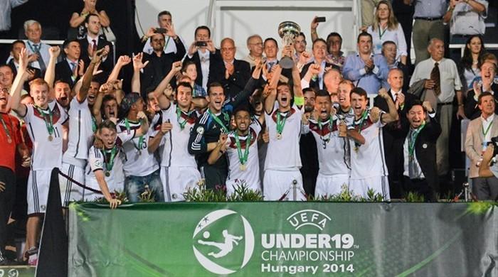 Сборная Германии выиграла чемпионат Европы-2014 (U-19)