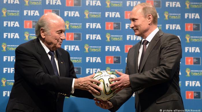 ФИФА признала Крым частью России (Фото)