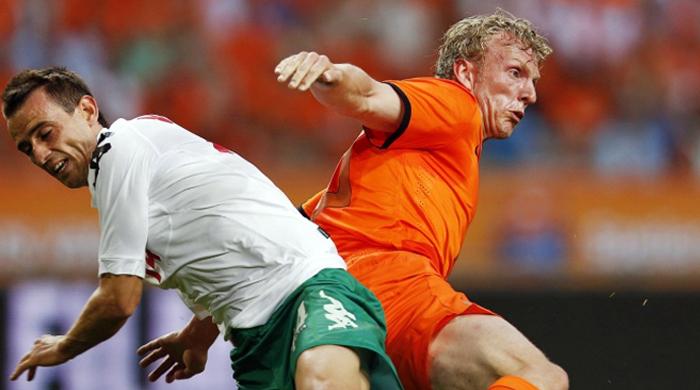 Кайт покидает сборную Нидерландов
