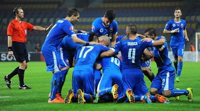 Квалификация Евро-2016. Группа С. Словаков не остановить (Видео)