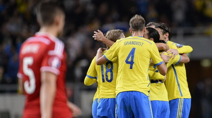 Квалификация Евро-2016. Группа G. Швеция обыграла Лихтенштейн (Видео)