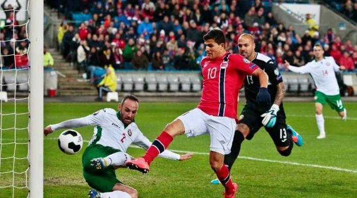 Квалификация Евро-2016. Группа Н. Норвежцы берут верх над Болгарией