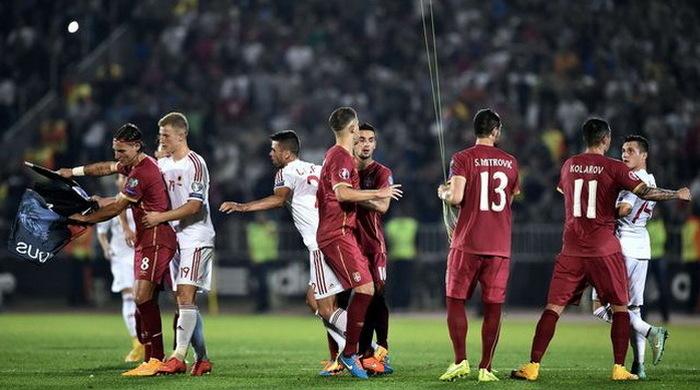 """Делегат УЕФА: """"Виновного в белградском инциденте определим позже"""""""