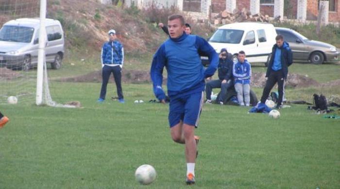 """Футболист """"Тернополя"""" в дебютном матче побил рекорд Первой лиги"""