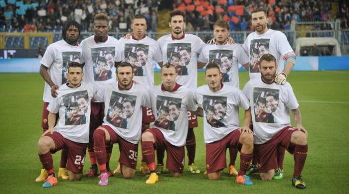 """""""Рома"""" почтила память своих погибших фанатов"""