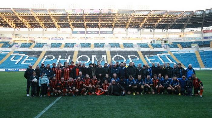 В Одессе состоялся матч памяти Виктора Прокопенко