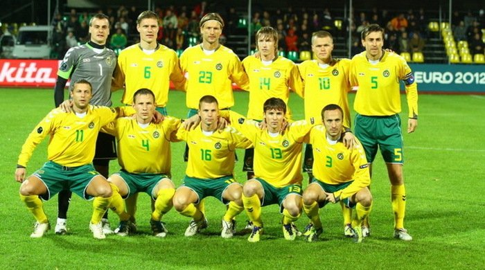 Литва огласила состав на матч с Украиной