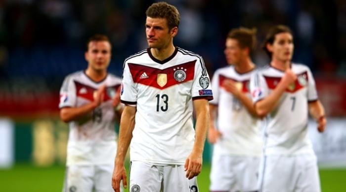 Отбор к Евро-2016. Группа D. Германия уничтожила Гибралтар, Шотландия одолела Ирландию