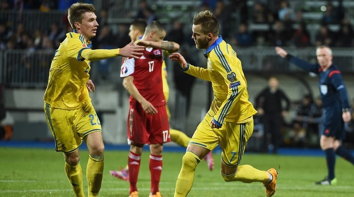 Люксембург - Украина 0:3. Бенефис Ярмоленко (Видео)