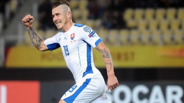 Македония - Словакия 0:2. Стопроцентная Словакия (Видео)