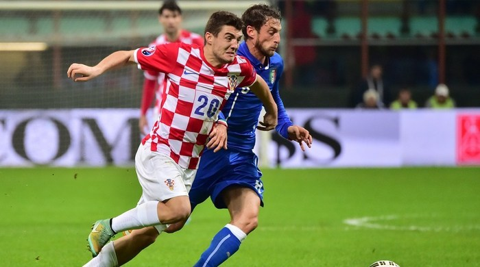 Италия - Хорватия 1:1. Ничья с огоньком (Видео)