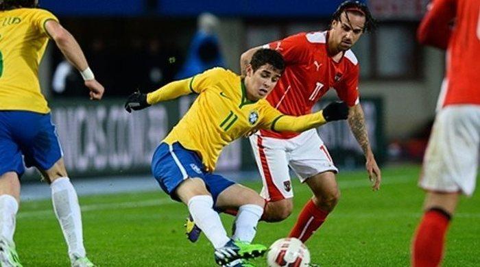 Австрия - Бразилия 1:2. Драгович забивает, Австрия уступает (Видео)