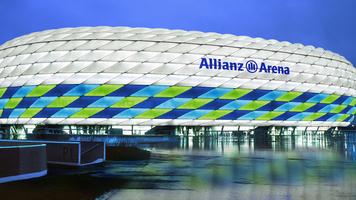 Немецкий болельщик собирает из LEGO модели настоящих стадионов (Видео)