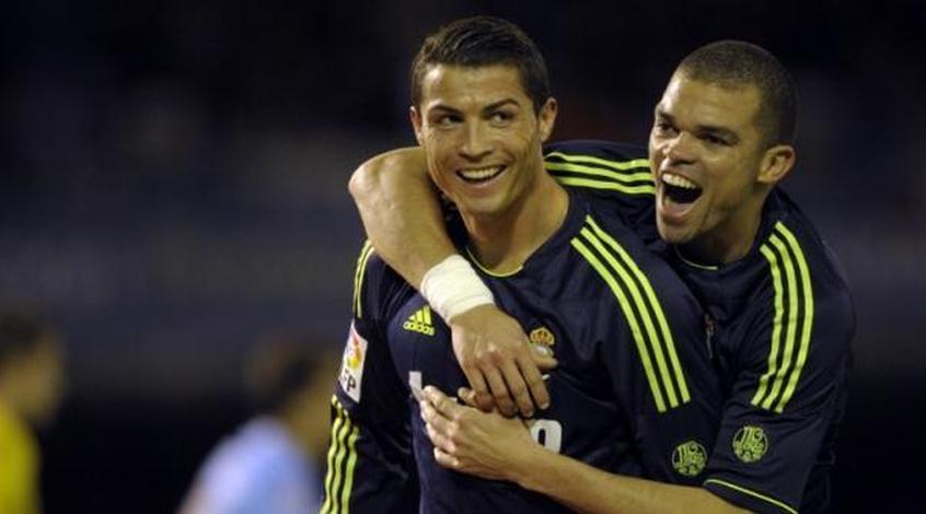 """Пепе на тренировке """"Реала"""" напомнил Криштиану Роналду, что с ним лучше не шутить (Видео)"""
