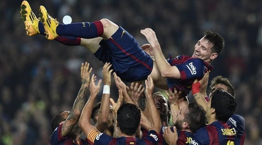 """""""Барселона"""" - """"Севилья"""" 5:1. Очередной рекорд Месси (Видео)"""