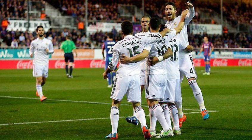 """Испания. 13 тур. """"Реал"""" продлил победную серию до 16 матчей"""
