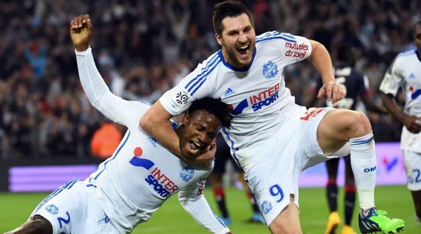 """Франция. 14 тур. """"Марсель"""" возвращается на вершину Лиги 1"""