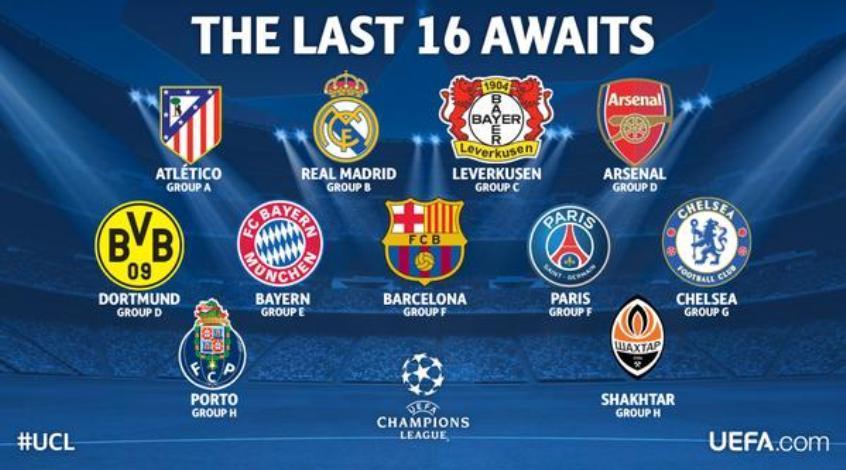 Лига чемпионов, 5-й тур. Любопытная цифирь