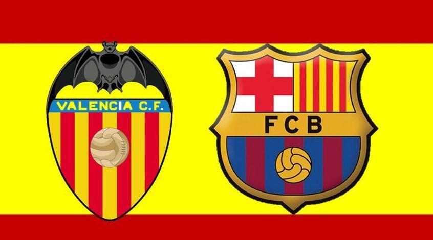"""""""Валенсия"""" - """"Барселона"""" 0:1. Победа на флажке (Видео)"""