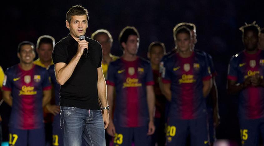 """Экс-тренер """"Барселоны"""": """"Виланова за шесть дней до смерти убедил Месси остаться в """"Барселоне"""""""