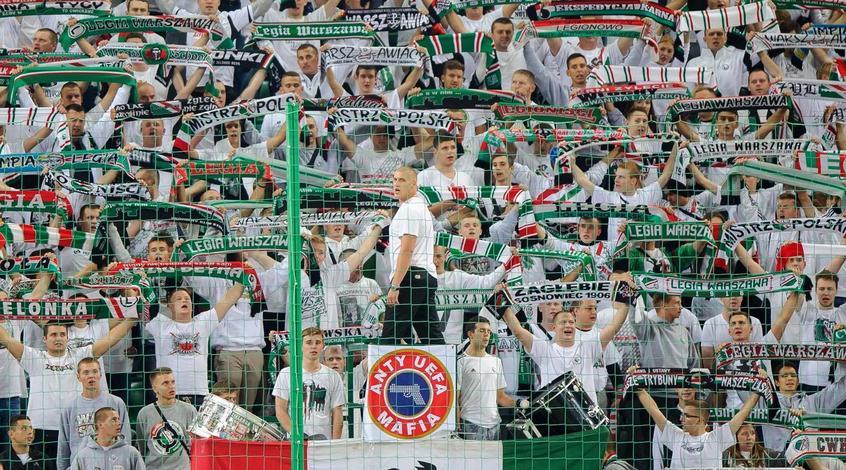 """УЕФА наказала """"Легию"""" за расизм"""