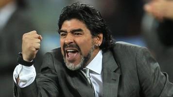 """Диего Марадона: """"Матч Аргентина — Венесуэла? Я не смотрю фильмы ужасов"""""""