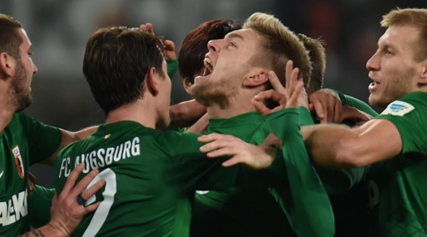 Чемпионат Германии. 14-й тур. Аугсбург уже третий!