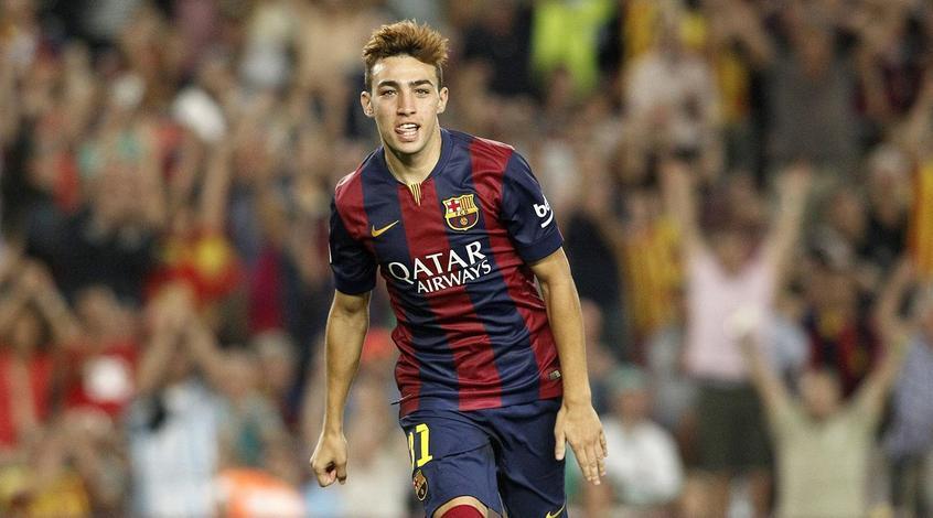 """Форвард """"Барселоны"""" Мунир отпраздновал 23-летие в Мадриде, но не хотел оплачивать счет"""