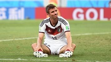 Томас Мюллер сыграл 100-й матч за сборную Германии