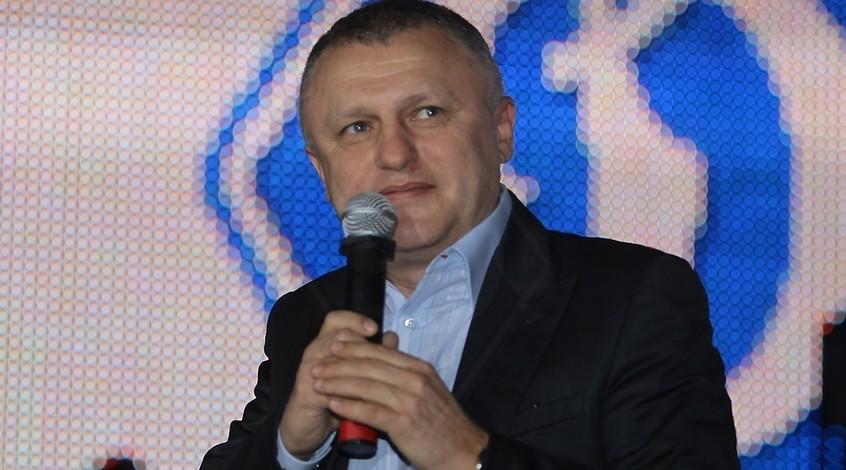 """Игорь Суркис: """"Уверен, что в следующем году """"Динамо"""" отблагодарит вас"""""""