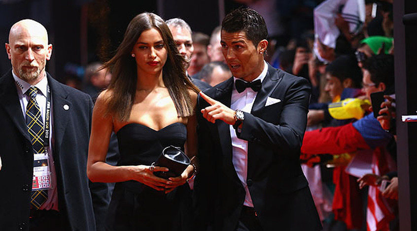 Роналду признался, что россиянка крадет его нижнее белье (Фото)