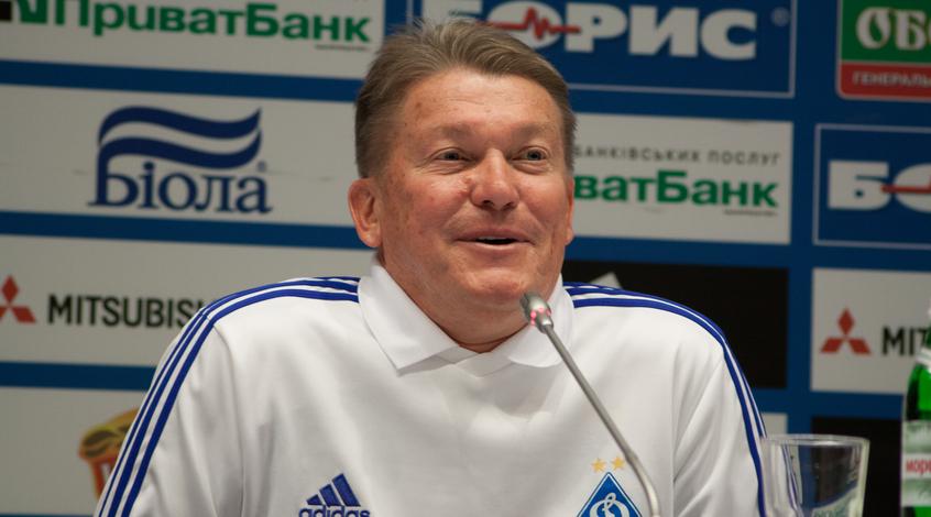 Динамо исборную необсуждаю, однако открою один секрет— Олег Блохин