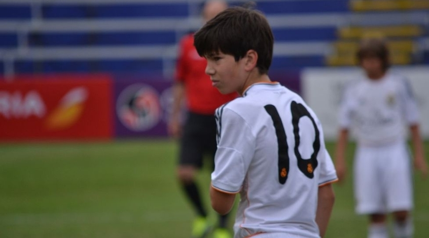 Сын Зидана покорил всех на турнире кубка юных талантов (Видео)
