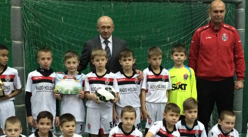 Николай Павлов провел очередной детский турнир