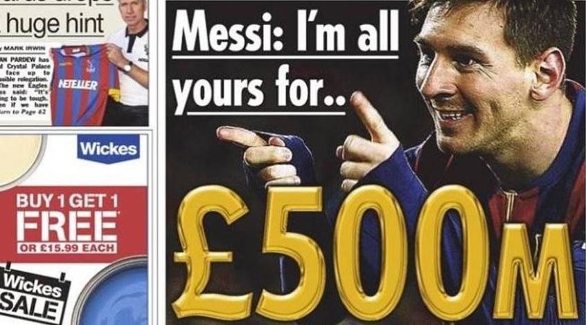 """Месси в """"Челси"""": Абрамовичу нужны 500 миллионов"""