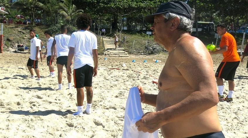Луческу в Бразилии встретил друга