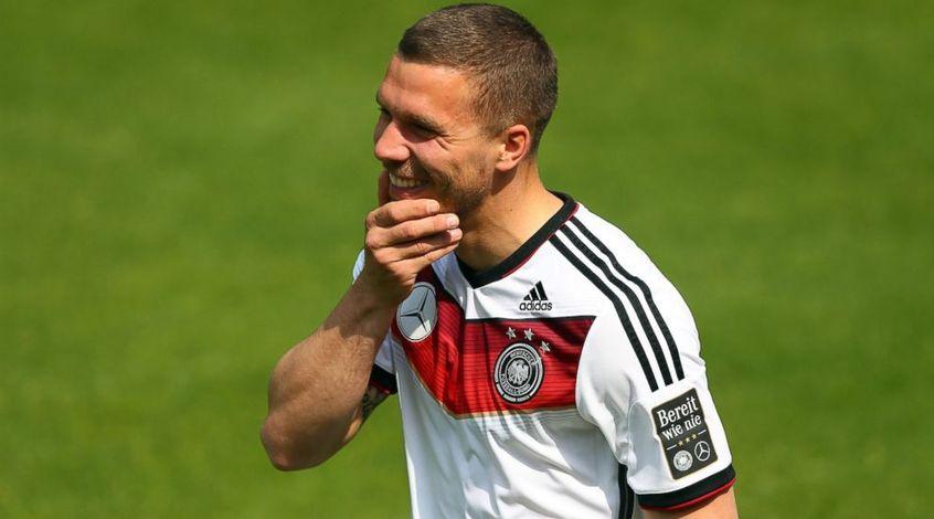 Форвард сборной Германии покинет команду после Евро-2016