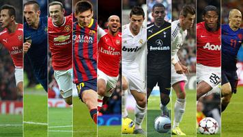 10 самых быстрых футболистов в мире