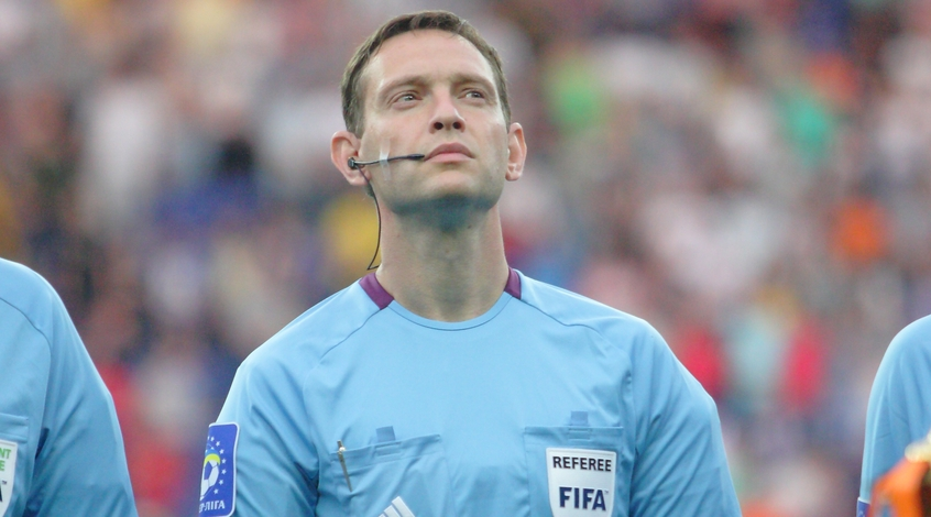 Украинский арбитр будет работать на Eвро-2016