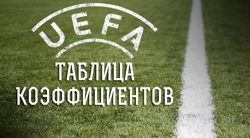 Таблица коэффициентов УЕФА: стойкий оловянный солдатик