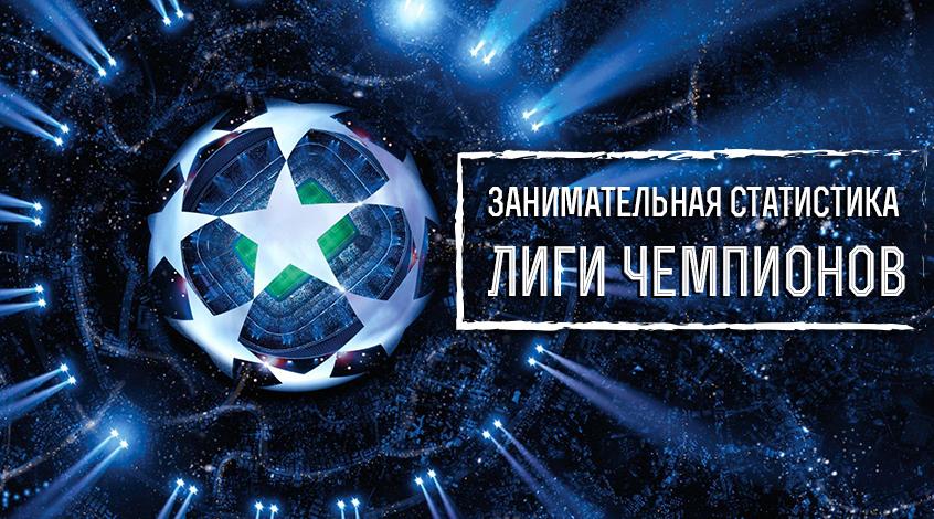 Инфографика: Лига чемпионов