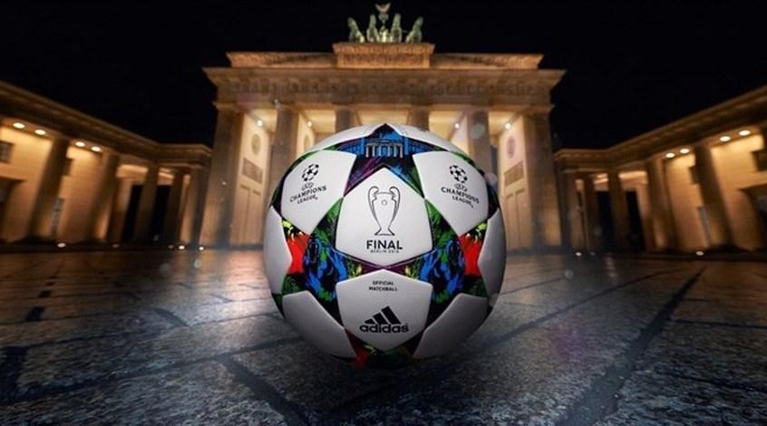 Представлен мяч для финала Лиги чемпионов