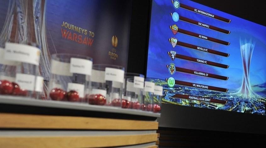 Российские и украинские клубы встретятся в Лиге Европы не раньше полуфиналов