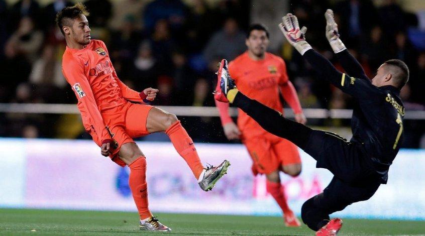 """""""Вильярреал"""" - """"Барселона"""" 1:3. Чуда не произошло"""