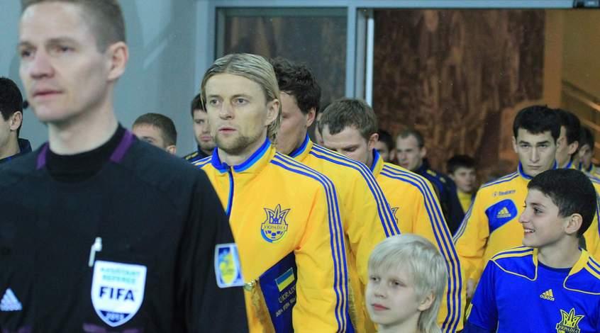 Анатолий Тимощук - в топ-10 игроков УЕФА