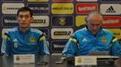 Испания - Украина: пресс-конференция Михаила Фоменко